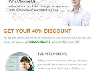 TD Web Hosting Services