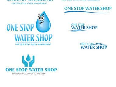 one stop water shop logo