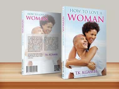 Design Book Cover - How to love a Woman