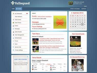 Social Networking for Sports