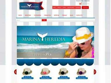 marinaheredia.com.ve