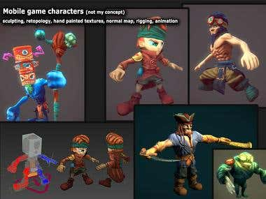 Realtime Characters