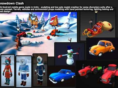 Snowdown Clash game