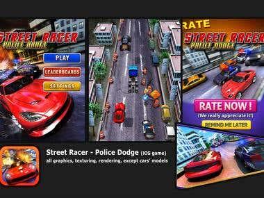 Street Racer Police Dodge