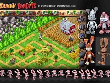 Bunny Bandits iOS game