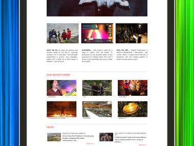 Portfolio Website Using WordPress