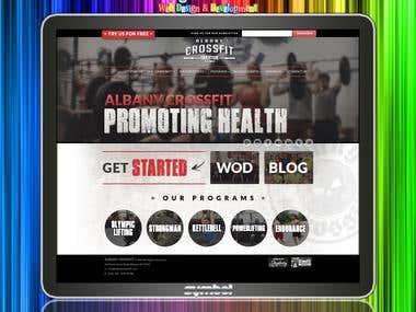 Website for CrossFit