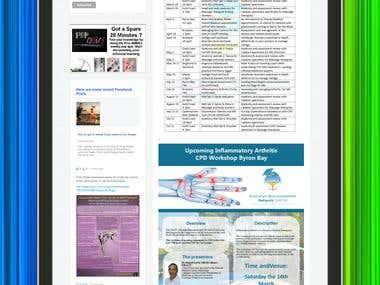 WordPress Classfied website