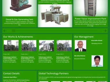 Website for Power Centre Company Ltd.