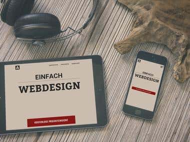 Responsive Freelancer Site