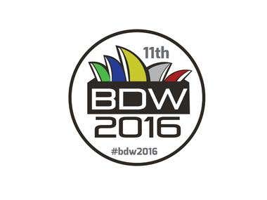 BDW conference Logo