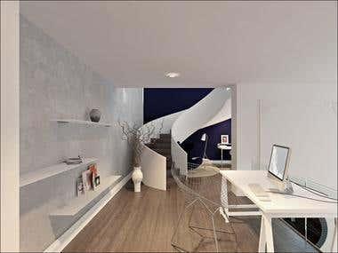 """Apartment Interior Design \""""DUO\"""" / Ukraine"""