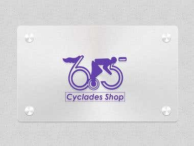 Cyclades Shop Logo Design