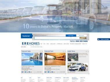 Real Estate Propert Website