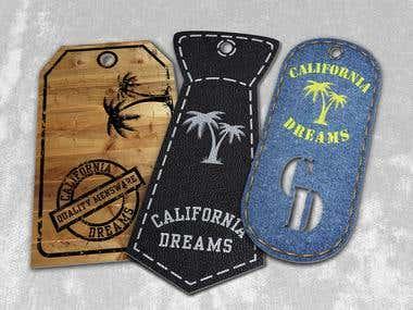 Clothing hang tag designs