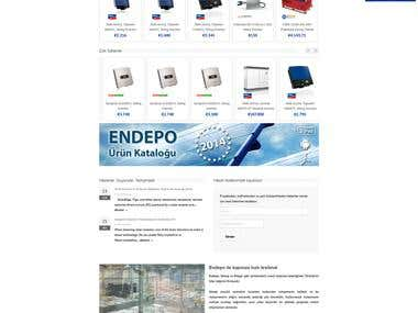 E-COMMERCE, WORDPRESS