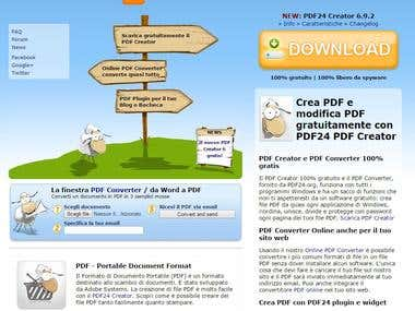 PDF24 Creator (http://it.pdf24.org/)