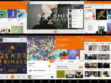 Android Audio Player App