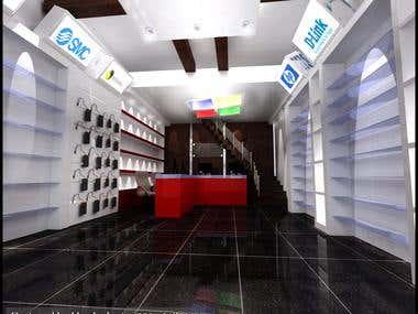 Computer shop in Dubai