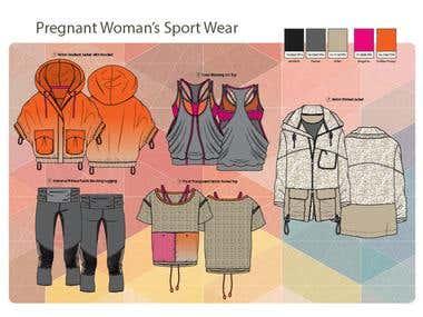 Pregnant Sport Wear
