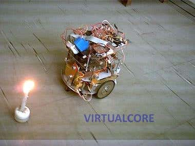 Obstacle-Avoidance Mobile Robot using Matlab\'s Fuzzy Logic