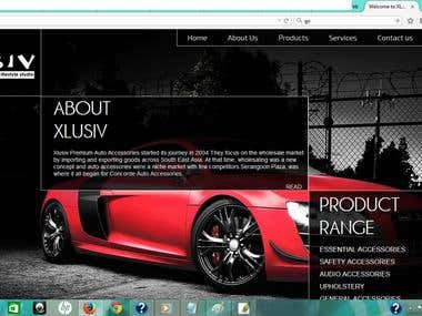 e commerce site for spare parts of Car