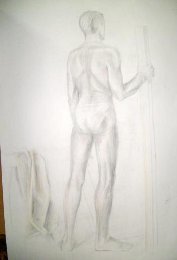 paintings, hand drawings.