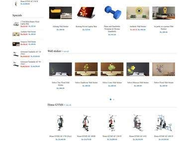 Opencart - Marketplace website