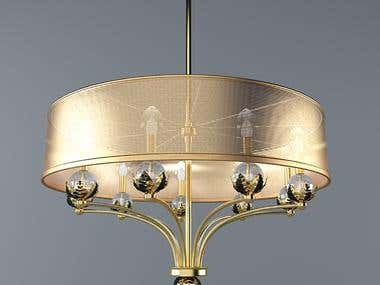 modeling chandeliers