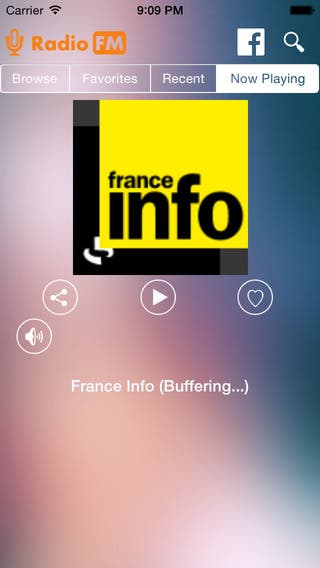 Radio-FM iOS App