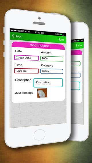 My Expense Book iOS App