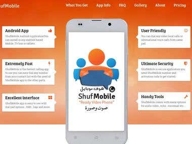 shufmobile.com is VOIP website and android app