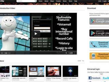 shufme.com voip socical site