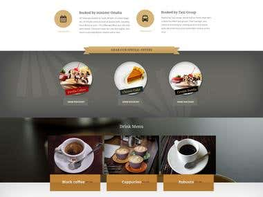Poirot - cafe template
