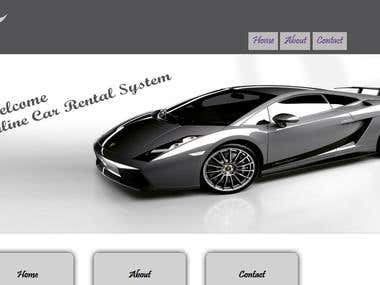 Online Car Rental and Managment System