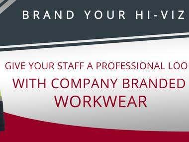 Design a Hi Viz Banner for our website