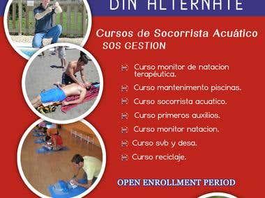 Design a Poster for Gym Program