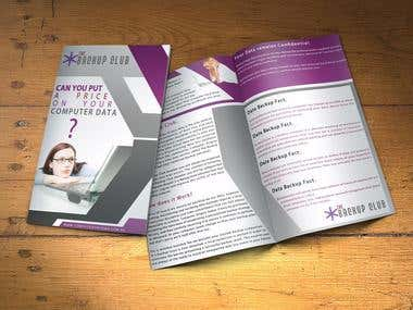 Brochure Design Artwork
