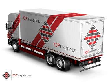 Truck Graphic design