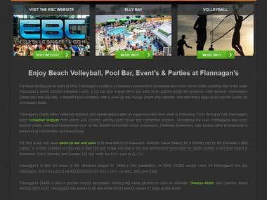 Sport Website development