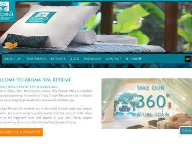 Spa Website Development & SEO