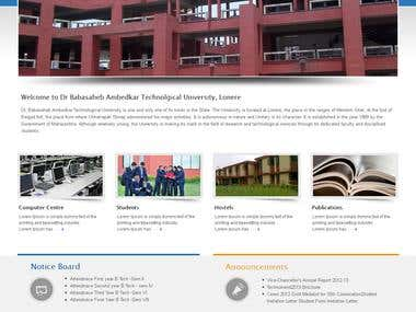 Dr. Babasaheb Ambedkar Technical University Design