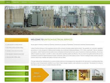 United Electrical Services New Design