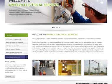 United Electrical Services Web Design
