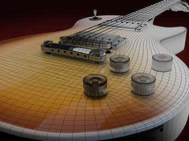 Guitar model