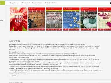 Web Translation Spanish> Portuguese (Texts and Images)
