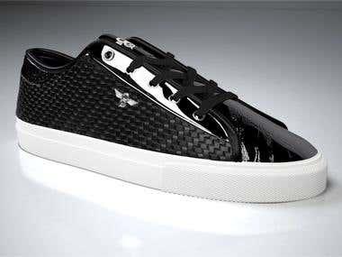 3D Shoe render