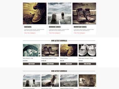 Bullsy website template