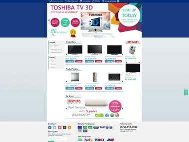 Machi electronic ecommerce website