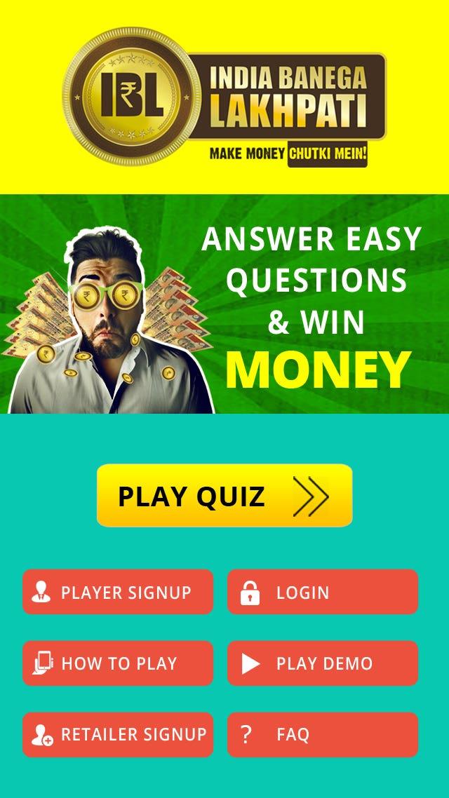 IBL - Online Quiz App | Freelancer
